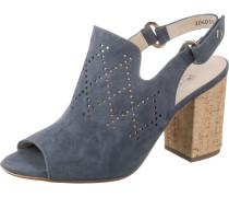 Sandaletten 'Andira' taubenblau