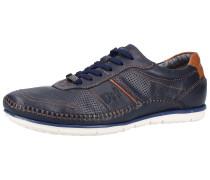 Sneaker marine / bronze
