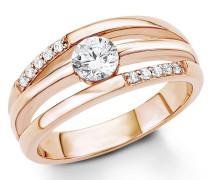 Silberring: Ring mit Zirkonia