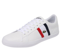 Sneaker 'Leron' nachtblau / rot / weiß
