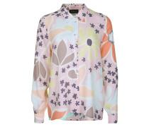 Bluse 'Flowers powder' mischfarben