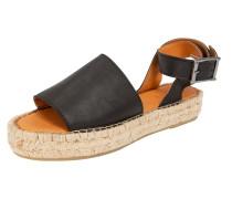 Sandale 'Jeena' schwarz
