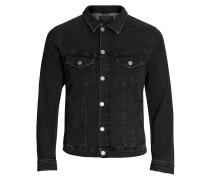 Jeansjacke schwarz
