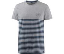 T-Shirt 'Newry' blaumeliert / graumeliert
