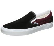 Classic Slip-On Sneaker schwarz / weiß