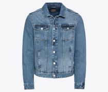 Jeanshemd 'basic Jktmidblue' blue denim