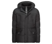 Jacke grau / schwarz