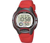 Uhr 'lw-200-4Avef' rot / schwarz