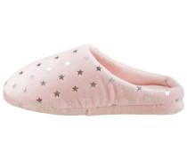 Pantoffel rosa