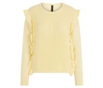 Pullover pastellgelb