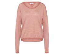 Pullover rosa / weiß
