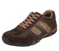 Sneaker Low braun / dunkelbraun