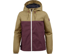 'alder Light' Jacke hellbraun / bordeaux