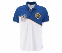 Poloshirt blau / gelb / naturweiß