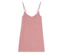 Nachthemd 'Amy Fashion' rot / weiß