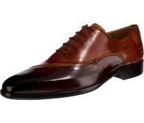 Schuhe rostbraun / dunkelbraun