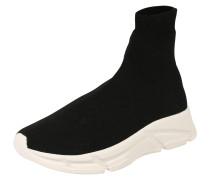 Sneaker 'bitten' schwarz