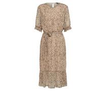 Kleid hellbeige