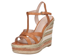 Sandale 'nydaycia' rostbraun