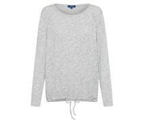 Langarm T Shirt graumeliert