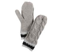 Handschuh 'Albertine' grau
