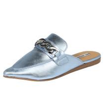 Pantolette 'Chain Mule' himmelblau