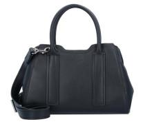 'Irene' Handtasche Leder 30 cm schwarz