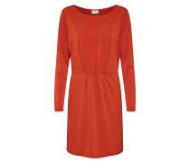 Kleid 'classy' rostrot