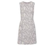 Kleid schwarz / offwhite