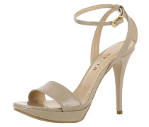 Sandalette 'valeria' beige