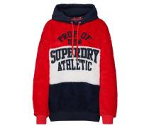 Sweatshirt 'borg Hood' creme / navy / rot