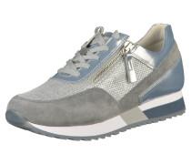 Sneaker rauchblau / grau / silber