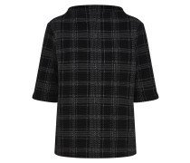 Sweatshirt 'Gadeni' dunkelgrau / schwarz