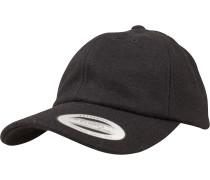 Dadcap 'Melton Wool' schwarz