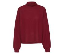 Pullover 'boxy' burgunder