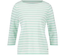Pullover ecru / pastellgrün