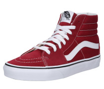 Sneaker 'UA SK8-Hi' rot / weiß