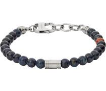 Armband 'jf02756040' navy / cognac / silber