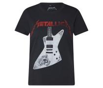 Shirt 'rocky' feuerrot / schwarz
