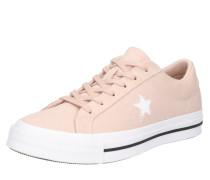 Sneaker 'One Star Suede OX' altrosa