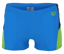 Badehose 'ren' blau / hellgrün