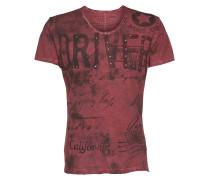 T-Shirt 'Driving' rot