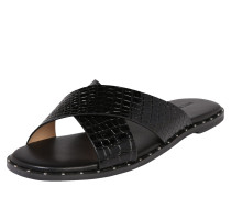 Slipper 'scarlett X Strap Sandal' schwarz