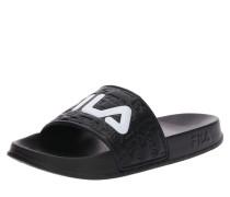 Pantolette 'Boardwalk' schwarz / weiß