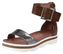 Sandale 'talisman' braun