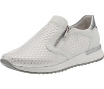 Slip-On-Sneaker weiß