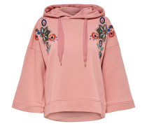 Lockeres Sweatshirt altrosa