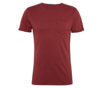 T-Shirt 'overdyed tee' rot