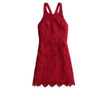 Kleid 'bare Lace Dress' rot