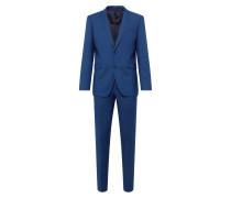 Anzug '2tone birdseye*' blau